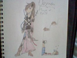 Deyndra the mage by lucas449