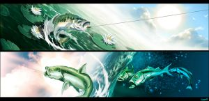 Fishes by GENZOMAN