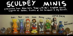 Sculpey Minis by Glowies