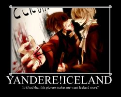 Yandere!Iceland is Hot by GloriousBlue15