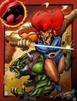 Thundercats - collaboration by NormanWong