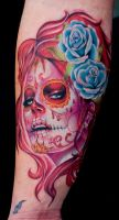 day of the dead girl by tat2istcecil