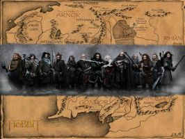 The Hobbit Wallpaper by mcgarty