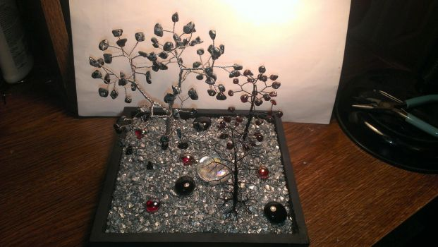 Halloween Gem Tree Garden 2013 by Industrial-Pop