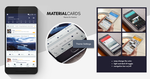 Material Cards Theme by marcco23