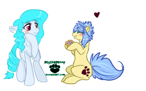 Gift: A muffin of Friendship by SplatterSky