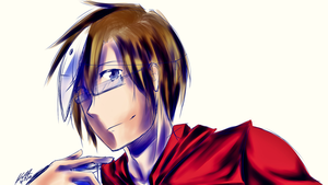 Smiling by KiranaKikoeru917