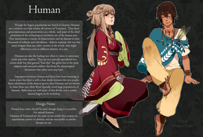 Human Race Sheet by monokroe