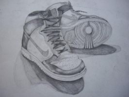 Nike Hightops-Charcoal by WilliamPlagues