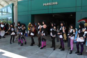 anime expo 2014  gathering 9 by antshadow13