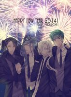 Happy New Year 2014 by PencilCrown