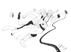 Grimmjow n Vergi - Alice B-day by Evil-Siren