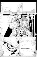 TMW Chapter 19 Page 1 Lineart by Lance-Danger