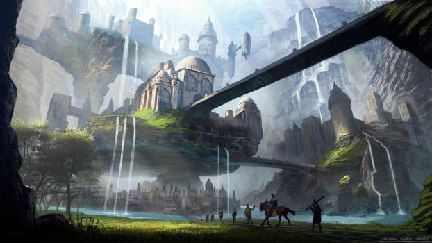 Canyon City by Conceptibot