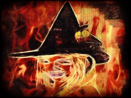 Halloween Witch by BL8antBand
