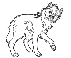 Adopt base: happy wolf (transparent png version) by kitoridragoness