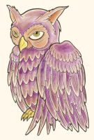 Owl Tattoo Design by Heavy-metal-ink