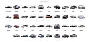 My Favorite Cars by heylove