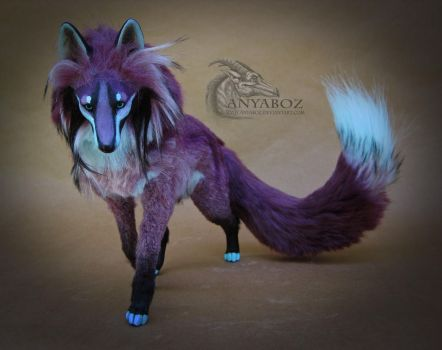 Orchid Fox Room Guardian by AnyaBoz