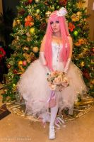 Luka Megurine Bride Cosplay by Lovelyrosevampress