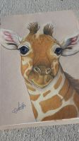 young giraffe #2 by RabidPuppy101