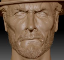 Clint E. ZBrush Update 2 by FoxHound1984