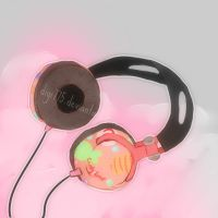 Candy candy Gumi headphones by digi775