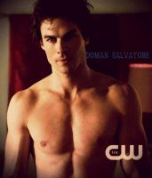 Damon Salvatore by JanetAnn