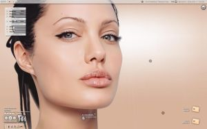 Angelina V : Desktop by Scott-Evo