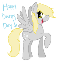 Happy Derpy Day! by KariTheKittyKat