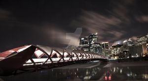 Peace Bridge (Calgary) by Lash-Upon-Lash