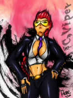 C.Viper fan art by moodyPI