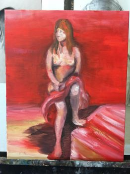 Figure Painting  by TwinWaters