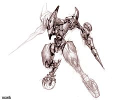 Mecha Design by bmad95