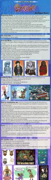 Commissions Price List 2016 by Expression