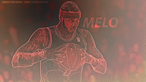 CarMELO Anthony Wallpaper by EsegaGraphic