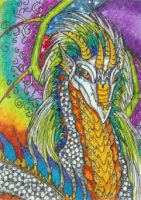 Typhon (ACEO) by Keyshe54