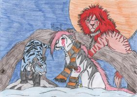 Contest Enaxn and Fireofanubis by Ginger-love
