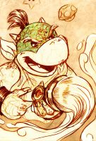 Bowser Jr. by MistyTang