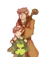 Elf Dip And Ford by Minryll