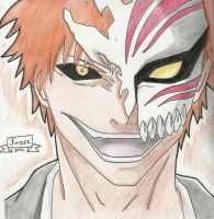Ichigo Hollow - Bleach by KaizerCL