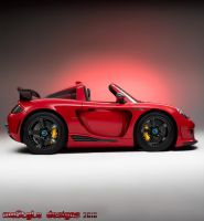 Porsche Carerra GT toy by mo5tyle