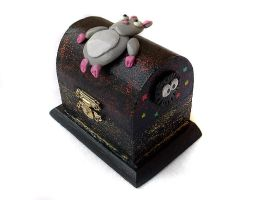 Spirited Away Trinket Box by DeadLulu