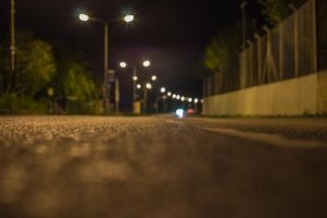 Asphalt at night by cab3