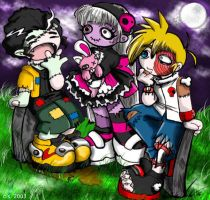 Undead Kids by AtomicBunny