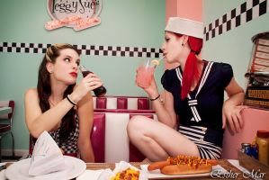 Pin up dinner by SirK13