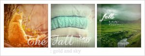 Gold and Sky avatar set by Keila-the-fawncat