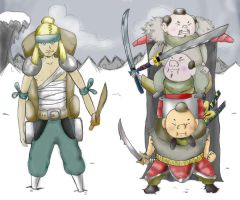 The Ronin Front - The Ishii3 by HiMyNameIsBlargh