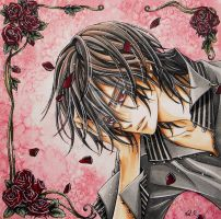 Kaname Kuran Vampire Knight (SOLD) by escafan