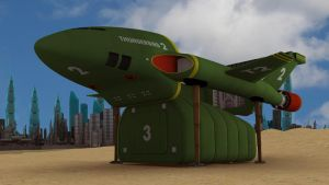 Thunderbird 2 Test... by PUFFINSTUDIOS